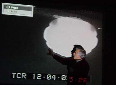 Carlos DIaz durante la conferenza del CUSI